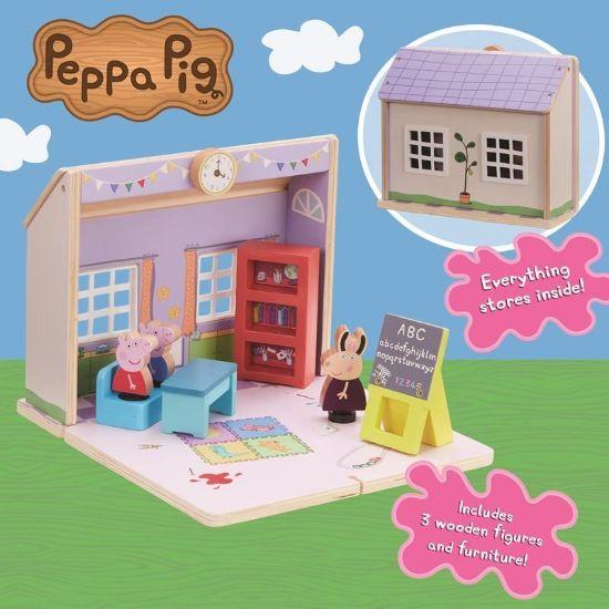 07212 Peppa Pig Wooden Schoolhouse FPS (Copy)