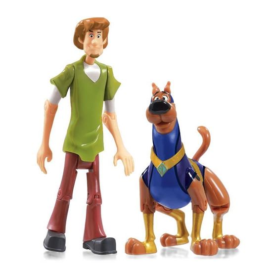 07180 Scoob Action Figure Twin Packs Super Scoob and Shaggy CPS (Copy)