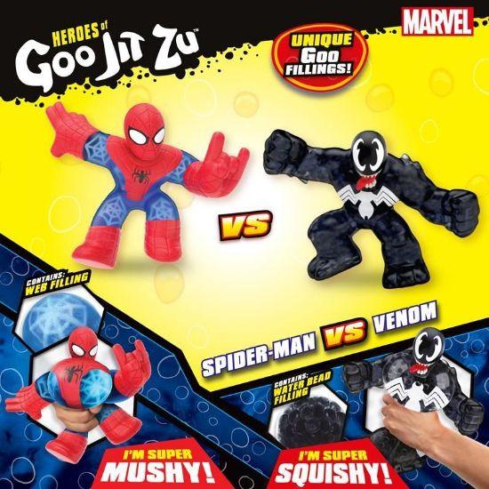41146 HEROES OF GOO JIT ZU MARVEL VERSUS PACK SPIDER MAN VS VENOM FPS (Copy)