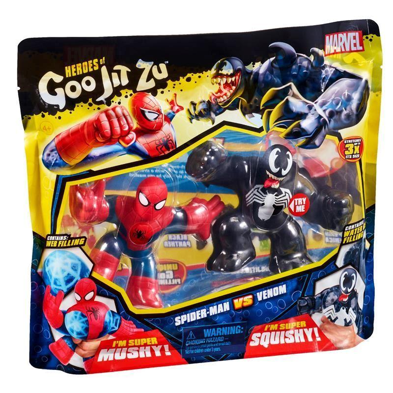 41146 HEROES OF GOO JIT ZU MARVEL VERSUS PACK SPIDER MAN VS VENOM ABS2 (Copy)