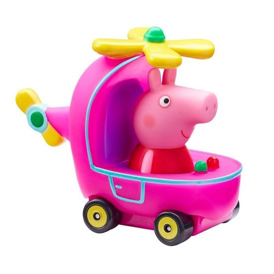 96617 PEPPA PIGS MINI BUGGY (4 ASST) Peppa and Helicopter CPS (Copy)