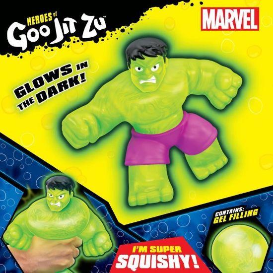 41227 HEROES OF GOO JIT ZU MARVEL SUPERHEROES S2 GAMMA GLOW HULK FPS (Copy)