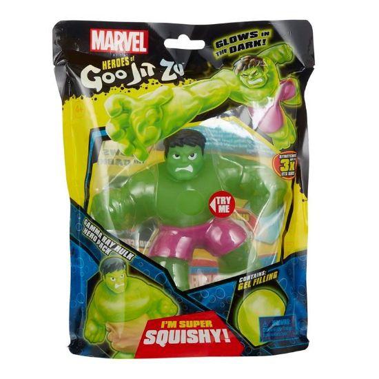 41227 HEROES OF GOO JIT ZU MARVEL SUPERHEROES S2 GAMMA GLOW HULK FBS (Copy)