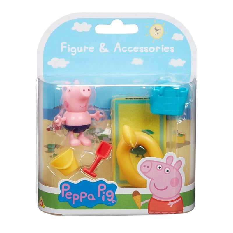07329 PEPPA PIGS FIGURE AND ACCESSORIES PACK - BEACH THEME FBS3 (Copy)