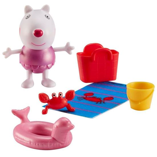 07329 PEPPA PIGS FIGURE AND ACCESSORIES PACK - BEACH THEME CPS4 (Copy)