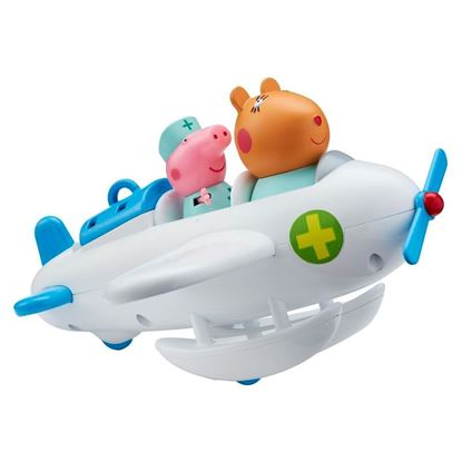 07349 Peppa Pig Dr Hamster Veterinary Plane CPS (Copy)