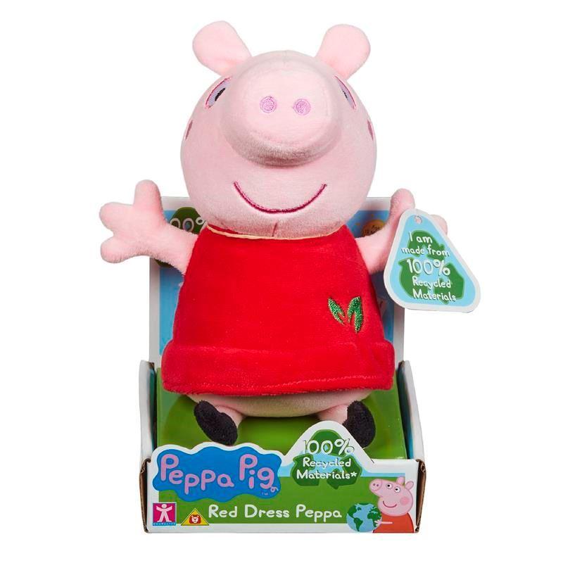 07356 Peppa Pig Red Dress Peppa FBS (Copy)