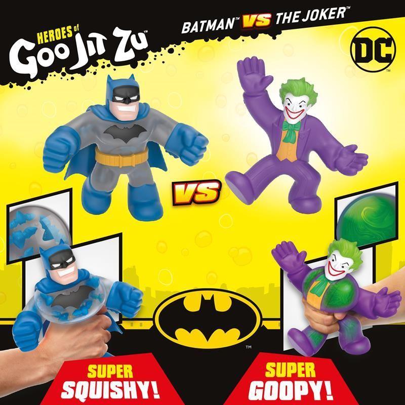 41184 HEROES OF GOO JIT ZU DC VERSUS PACK BATMAN VS JOKER FPS (Copy)