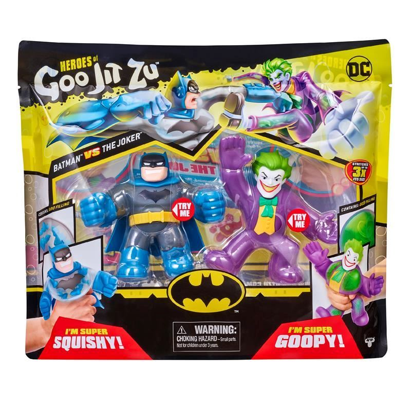 41184 HEROES OF GOO JIT ZU DC VERSUS PACK BATMAN VS JOKER FBS (Copy)