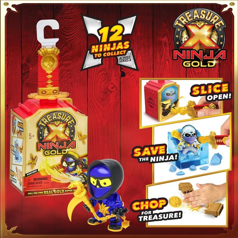 41625 Treasure X Ninja Gold Hunter Single Pack FPS (Copy)