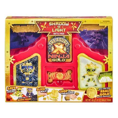 41618 Treasure X Ninja Gold Shadow vs Light Battle Pack FBS (Copy)