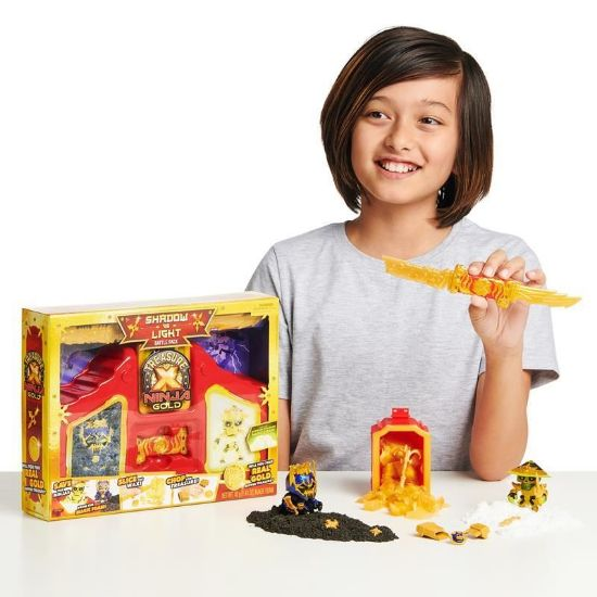 41618 Treasure X Ninja Gold Shadow vs Light Battle Pack LSS4 (Copy)