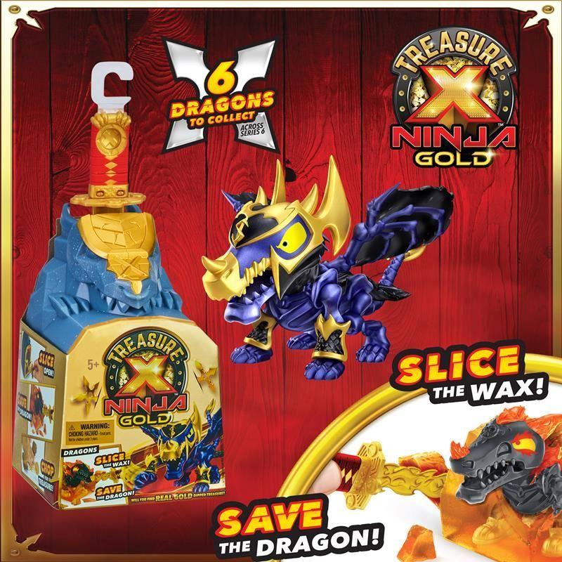 41616 Treasure X Ninja Gold Dragon Single Pack FPS (Copy)
